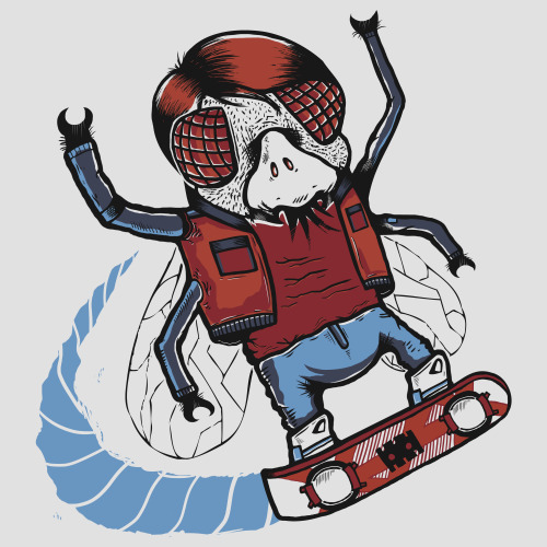 "eatsleepdraw:  ""Marty McFLY""Let's see if you bastards can do 90… - Marty You can also visit my site for more artworks: http://chachinger-z.tumblr.com/http://planet-chachinger-z.tumblr.com/http://www.flickr.com/photos/chachinger_z/"