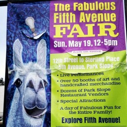 Will you be there?  #TheFabulousFifthAvenueFair #Tomorrow #StreetFair #ParkSlope #Brooklyn #NYC #abrooklynsoul  (at South Slope, Brooklyn)