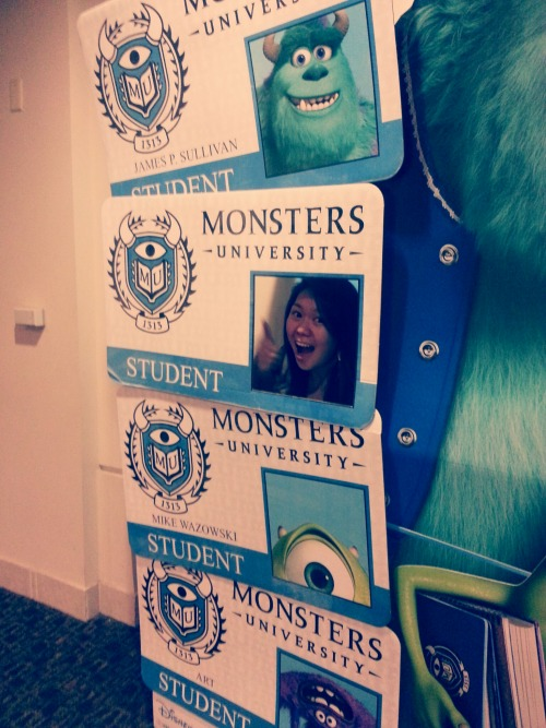 It's official. Monsters University, what upppp