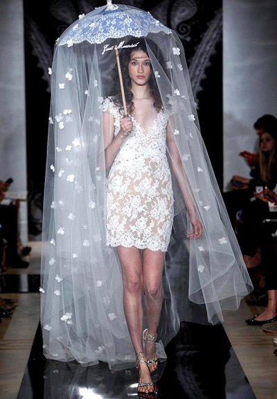 she-loves-fashion:  SHE LOVES FASHION: Reem Acra Spring 2014 Bridal Collection