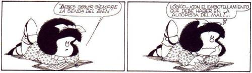 sussie-c:  Cola infernal…Por Quino