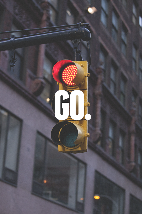 atmynamesoitsreal:  Don't stop..Don't Slow Down…….GO—-Green Light