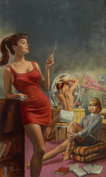 vintagecoolillustrated:  Paul Rader   Jinkies!