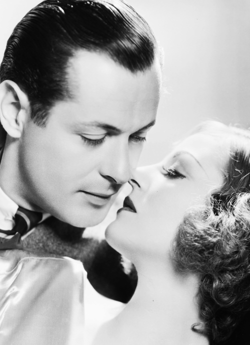 mariondavies:  Robert Montgomery and Tallulah Bankhead for Faithless, 1932