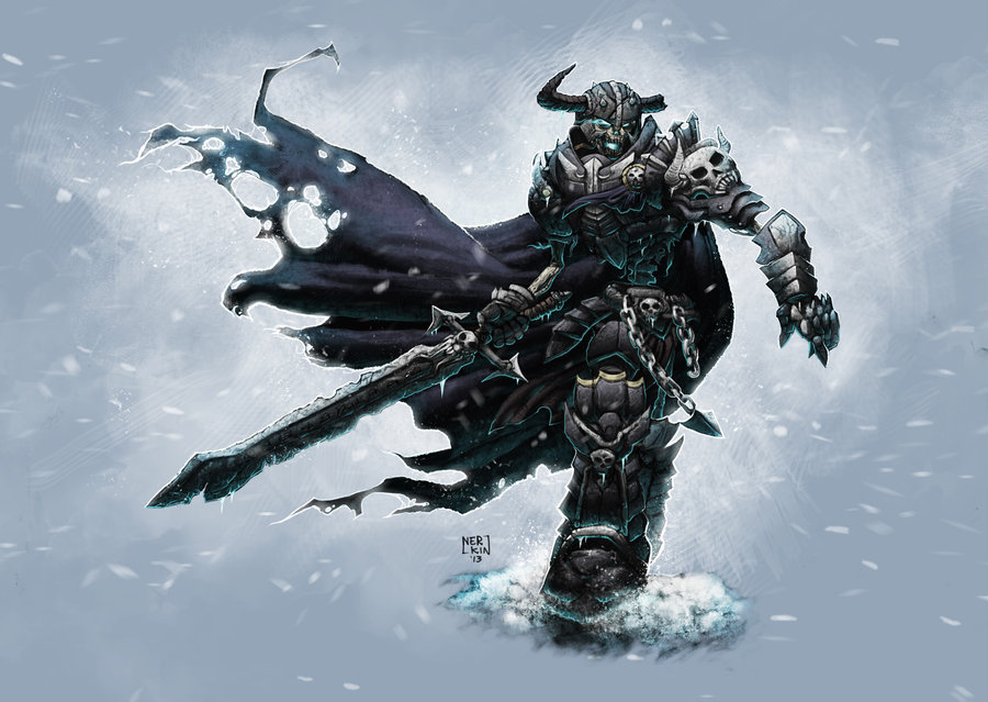 Undead Warrior by ~Nerkin