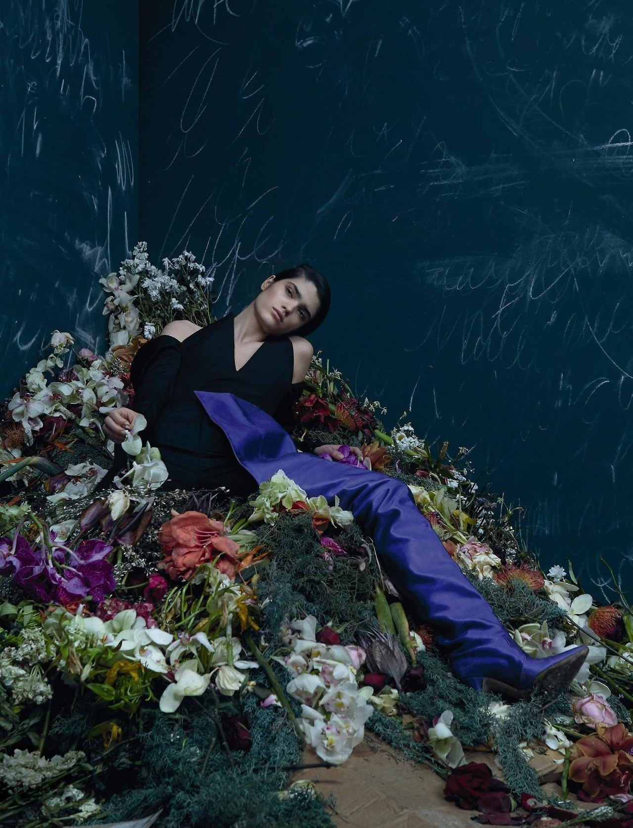 Les Fleurs Du Mal - Alexandra Micu For Numero April 2017 Part 2