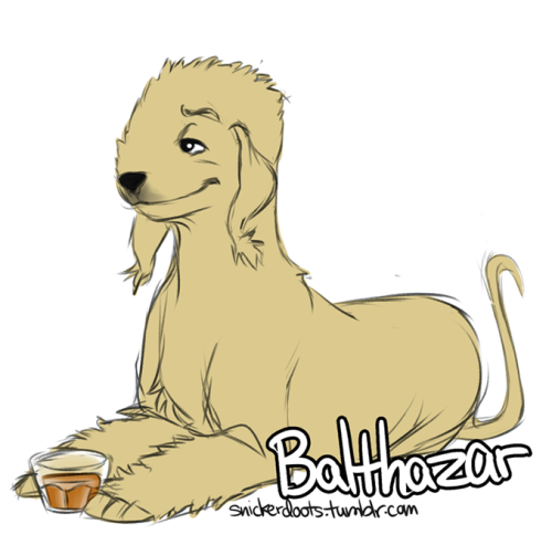snickerdoots:  So, SPN characters as dogs… BECAUSE I CAN. UPDATE: I ADDED EVEN MORE SPN!DOGS!