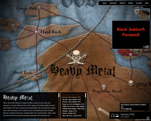 socksonanoctopus:  Love Metal Music? Then check out this cool site, Map of Metal. View Post