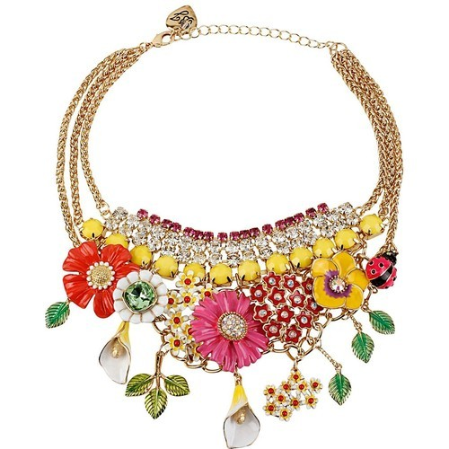 Betsey Johnson necklace   ❤ liked on Polyvore (see more betsey-johnson jewelry)