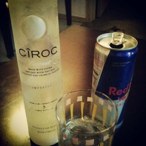 the best part of waking up, is #ciroc in your cup