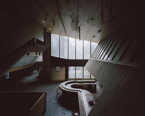 infiniteinterior:  Former Yugoslav Memorial Home and Political School, Kumrovec, Croatia. Architects: Berislav Serbetic´ and Ivan Filipcic´ (via Socialist Architecture: The Vanishing Act - Reading Room - Domus)
