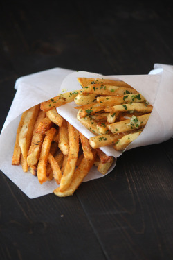 foodfuckery:  French Fries – Two Ways Recipe