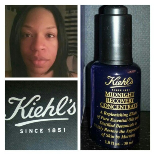 #beautytalk Starting tomorrow - follow me on my @kiehlsCa  #ChangeYourSkin 10-day challenge using #MidnightRecovery on @paperplanesca . It's about to get real!
