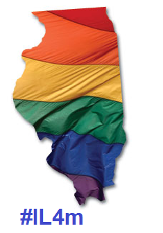 "(via Daily Kos: #IL4M: Marriage Equality will be voted on in the Illinois House before May 31st) It appears that my fine home state of Illinois has finally got off their duffs and will join the marriage equality legalization club before the end of May with a vote in the House… provided it gets 60+ green lights (yes votes). IL SB10 (Religious Freedom and Marriage Fairness Act) has already passed the Senate on Valentine's Day by a score of 34-21-2-2. It passed the House Committee on February 26th by a 6-5 vote. The Windy City Times reports that State Rep. Greg Harris will call IL SB10 for a vote in the full House before May 31st. The chief sponsor of Illinois' equal marriage bill says he is ""absolutely"" ready to call for a House vote on the bill within in the next ten days.Rep. Greg Harris told Windy City Times May 21 that the ""Religious Freedom and Marriage Fairness Act,"" which would bring equal marriage to the state, will pass by the end of session. ""When I put it up on the board, it's going to go up to win,"" Harris said, adding that he would ""absolutely"" call for a vote on the measure before spring session ends May 31.  Assuming it passes, it will be the 13th US State to pass same-sex marriage after Gov. Quinn (D) signs it into law. California, depending on either a favorable SCOTUS ruling on Prop 8 (most likely), legislation, and/or voter initiative, will likely be the 14th. On the anti-IL SB10 side of the debate, I expect the far-right hate group Illinois FascistFamily Institute, African American Clergy Coalition, and their allies to ramp up their already vile hate even further.    Former President Bill Clinton (D), the guy whose reign put the shameful DADT and DOMA  laws into effect in the 1990s, has come out in favor of IL SB10. STLToday.com: Former President Bill Clinton is weighing in on Illinois' same-sex marriage debate, calling on lawmakers to pass it and even invoking the state's favorite son in the argument. ""Since the days of Abraham Lincoln, Illinois has stood for the proposition that all citizens should be treated equally under the law,"" Clinton says in the statement, which has been publicized through Capitol Fax and other Illinois news and Internet outlets. Clinton has more recently said he regrets signing the bill.  Thankfully, the Big Dog has come around and admitted that signing DOMA was a bad mistake, as was DADT. Also to note, former State Senator, ex-US Senator, and current President Barack Obama (D) has endorsed the bill and likely would've voted yes on the bill if he were still in the Illinois Senate. Politico: President Obama would support Illinois's same-sex marriage bill if he were still serving in the legislature there, the White House said Tuesday. ""Were the president still in the Illinois State Legislature, he would support this measure that would treat all Illinois couples equally,"" spokesman Shin Inouye said in response to a question from POLITICO. Obama's support for the bill comes after former President Bill Clinton endorsed it earlier Tuesday.  The President has previously urged legislators in Illinois to pass such a bill since even before this current term began."