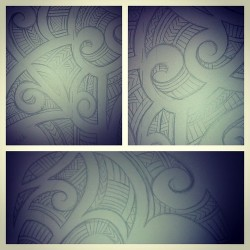 bespokebodyart:  Some #traditional #tribal #Maori designing underway… #tattoo #tatt #ink #shop #studio #bespokebodyart #bespoke #body #art #grimsby #lincolnshire #lincs #laser #removal #laserremoval #wellowgate #boutique
