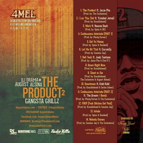 Mixtape: @AugustAlsina – 'The Product 2′ As one of my favorite artists of 2013 Def Jamartist August Alsina has put out a lot of dope music…View Post