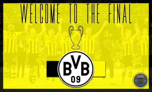 Borussia Dortmund are through to the UEFA CHAMPIONS LEAGUE FINAL! NEXT STOP WEMBLEY.After Defeating Real Madrid in a 2 Legged Semi-Final 4-3 on agg.WELL DONE DORTMUND!