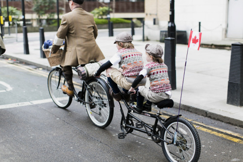 (via London Tweed Run 2013 | Park & Cube)