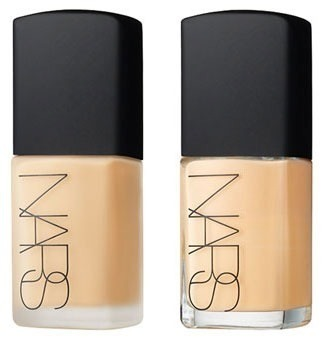 Nars sheer glow foundation in 'Mont Blanc'   CANNOT WAIT to order some of this stuff. Heard nothing but awesome reviews on the foundation and heard it does wonders for people (like me!) who have oily skin!   Got my makeup done with this in Melbourne about a month ago, and loved how breathable and how well it wore.   Love!!