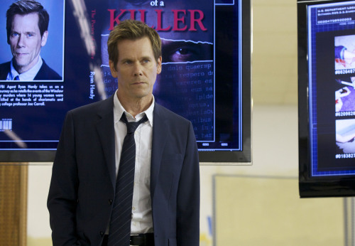 "Kevin Bacon Previews ""The Following"" And Its Unexpected Love Story Kevin Bacon is on TV! The actor had been looking for a TV project, so how did he decide on ""The Following""?   I liked the heroic aspect of the character in combination with the vulnerability, the damage, the complexity that he has. He's a guy that's hurting, so he's not your cookie-cutter hero-hero. I liked the fast paced, page-turning part of the show, and it had a lot of surprises for me. And I thought, well, if you could make a show that becomes the type of show where, on Tuesday, people are standing around the watercooler going, ""Shit, do you believe what happened?"" that would be something that would be cool to be a part of. And I was looking for something with high stakes, life and death."