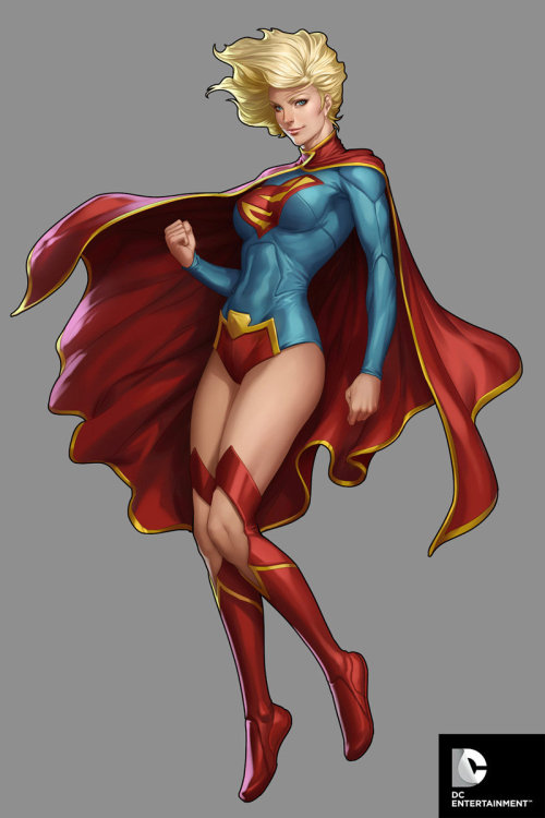 DC Comics Cover Girls - Super Girl by `Artgerm
