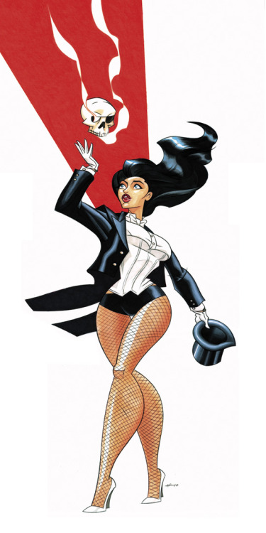Happy Birthday, Zee! Zatanna by Tim Fischer  Magic Monday