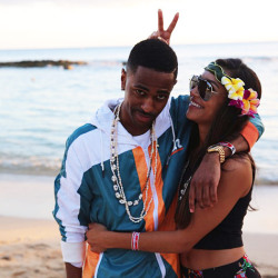 Big sean & Naya Nice COuple