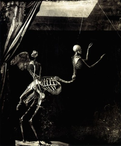 cavetocanvas:  Joel-Peter Witkin, Cupid and Centaur, 1992