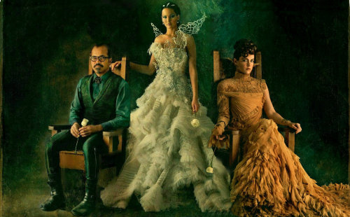 The Tributes of the 75th Annual Hunger Games Beetee, Katniss, & Johanna