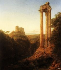 hadrian6:  Sunrise in Syria. 1874.  Frederic Edwin Church. American. 1826-1900. oil on canvas.