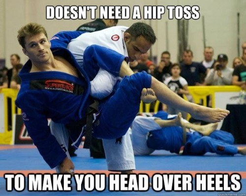 funnyordie:  9 Best Examples of the Ridiculously Photogenic Jiu-Jitsu Guy Meme He will break your heart. And possibly your arm.