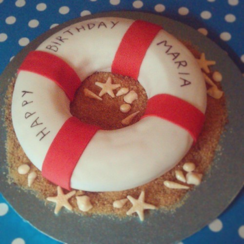 Nautical Cake by Miss Peachy Cakes