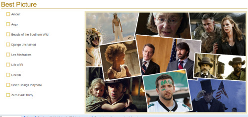 Oscars 2013: It's not too late to fill out our Academy Award ballot, with just a few hours left until the 85th Academy Awards. Head over to our play-at-home ballot, save your picks, print it out and see how correct your predictions turn out to be!