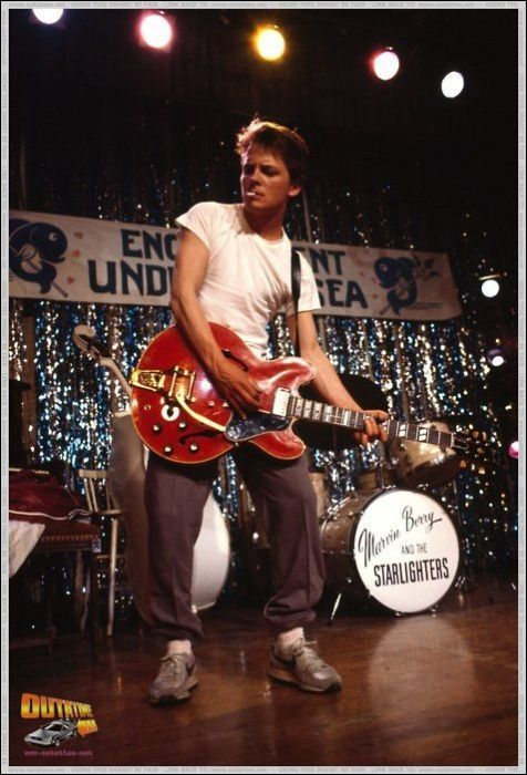 Michael J. Fox, 'Back To The Future' - Behind The Scenes