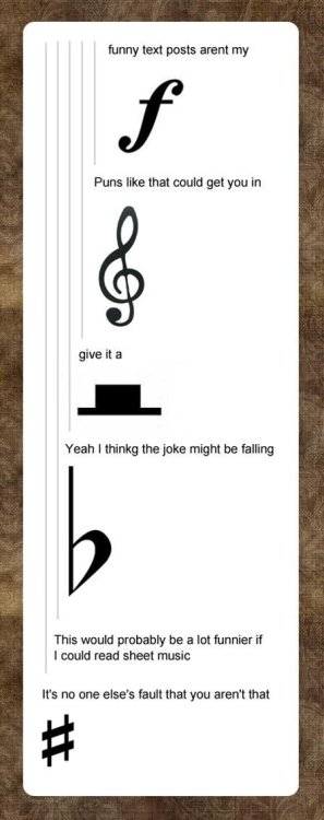 itsstuckyinmyhead:  Band Geek Humor