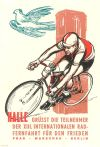Peace Race poster from 1960 found on BicycleGifts
