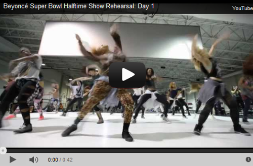 This Beyonce Rehearsal Video Will Make You Forget They Also Play Football At The Superbowl
