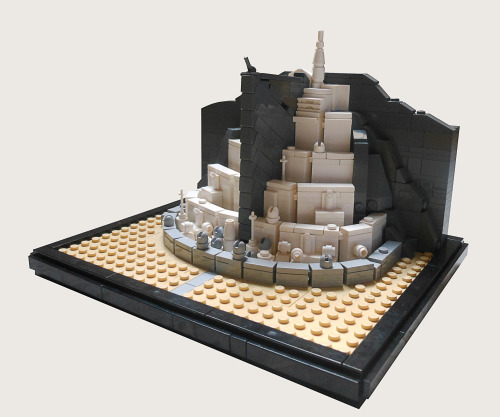 legollection:  Mini Minas Tirith #lego #lordoftherings
