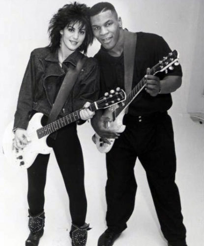 Joan Jett & Mike Tyson