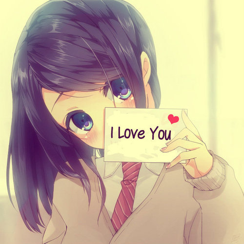 animekc:  I Love You <3