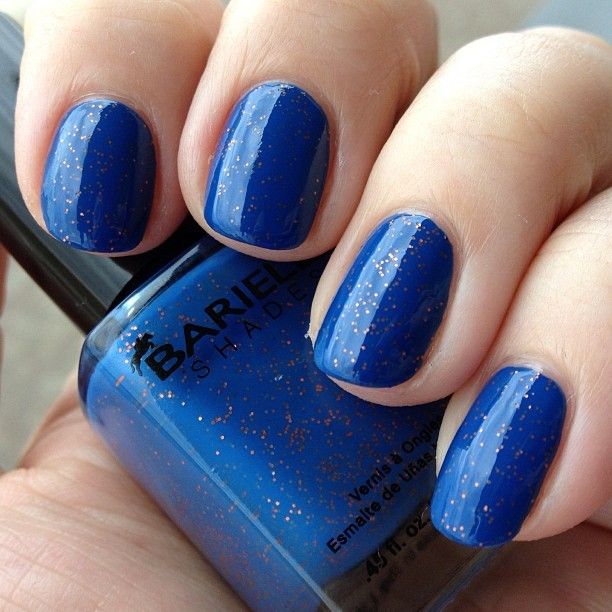 Why did it take me so long to try this?  @barielle Falling Star, created by @alllacqueredup!  #nofilter #nailpolish #notd #nailsoftheday #nailsofinstagram