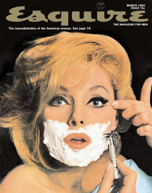 valentineuhovski:  Esquire,  March 1965  Amazing.