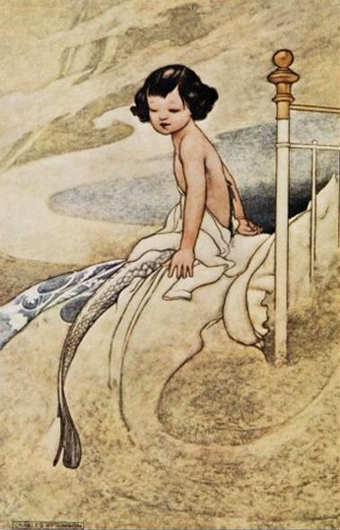 sisterwolf:  Charles Robinson  - She felt herself changing, 1913