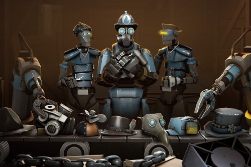 thisistheverge:  Valve announces 'Robotic Boogaloo,' the first 'Team Fortress 2' update built by the community Creators to split all revenues from the project