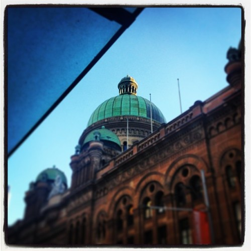 #eyeonsyd #sydney  (at Queen Victoria Building (QVB))