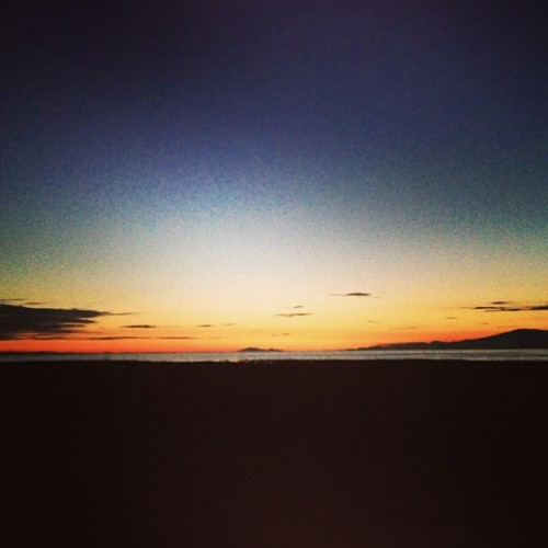 How is it still light out. #sunset #vancouver  (at West Dyke Trail - North)
