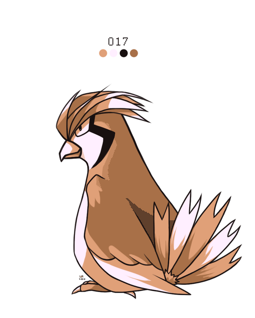 Pidgeotto by Rock Bomber