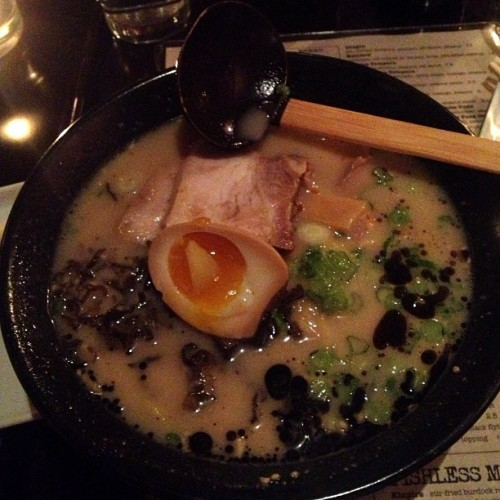Tonkotsu ramen. So, so good.
