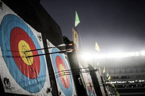 juliarchery:  world cup eliminations :D (x)