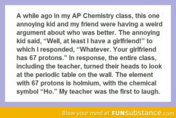 funsubstance:  A really smart kid  Hahaha